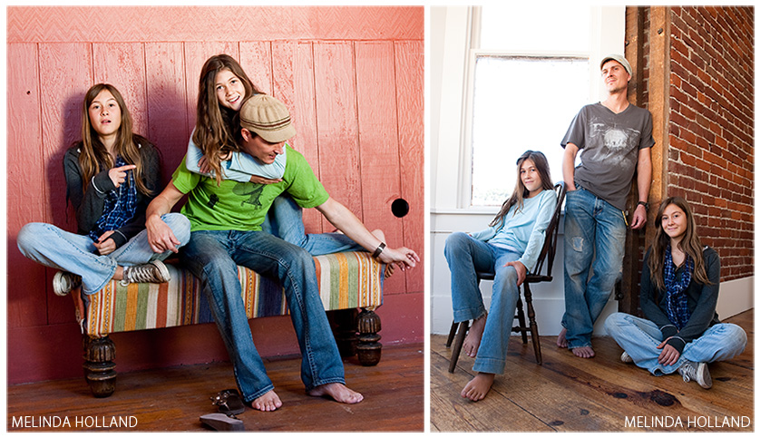 Justin & Girls, diptych